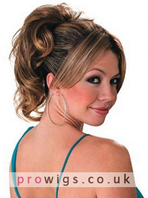 """10"""" Wavy With Two Comb Clip Attachment Synthetic Ponytail"""