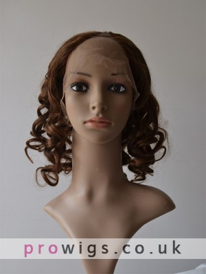 Mid-length Loose Spiral Curls U Part Wig