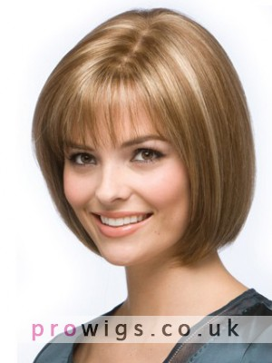 Smooth Bob Lace Front Human Hair Wig