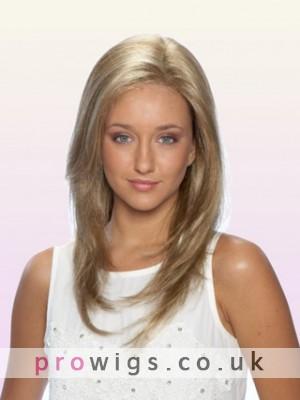 """16"""" Layered Human Hair Lace Front Human Hair Wig"""