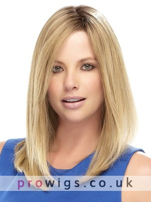 """16"""" Straight Lace Front Remy Human Hair Wig"""