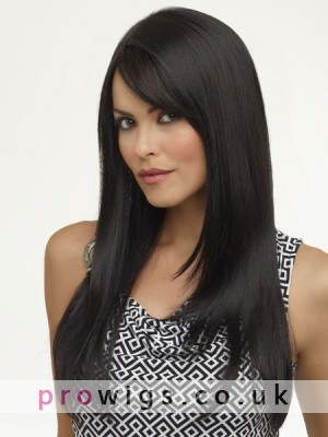 Long Straight Synthetic McKenzie Capless Wig