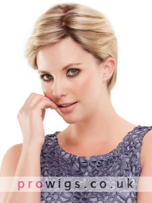 Short Boy Cut Style Lace Front Human Hair Wig