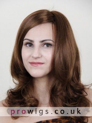 Long Lace Front Wavy Human Hair Wig