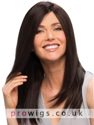 Shoulder Cut With Long Layers Human Hair Wigs