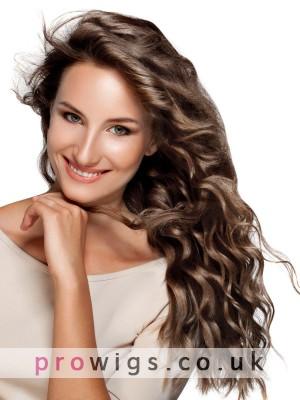 Human Hair Long Full Lace Deep Wave Wig