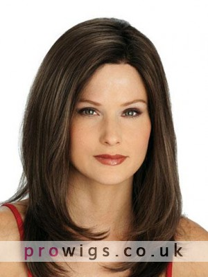 Beautiful Long Lace Front Straight Human Hair Wig