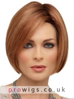 New Arrivals Short Lace Front Straight Human Hair Wig