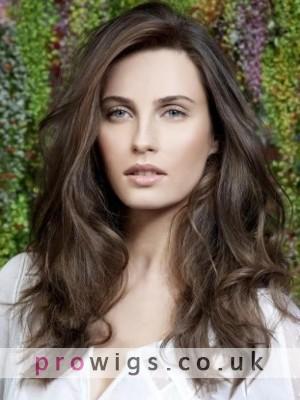 Elegant Custom Best Top Quality Professional Long Casual Wavy Human Hair Wig