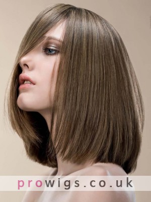 Remy Straight Mono Top Hair In 14 Inches