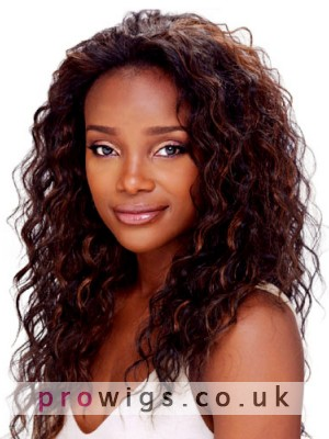 """20""""Flawless Long Lace Front Curly Women Wig"""