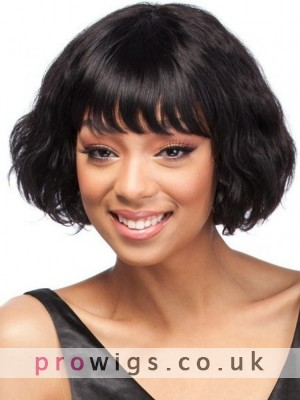 Wavy Fashion Remy Human Hair Wig
