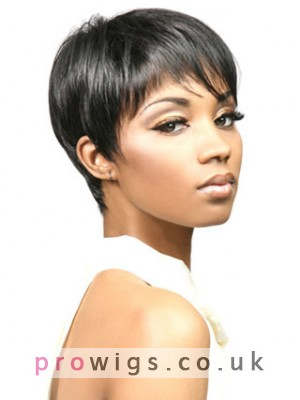Bori Boy Cut Synthetic Capless Wig