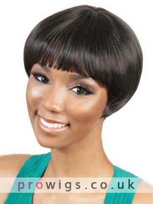 Camila Short Capless Synthetic Wig