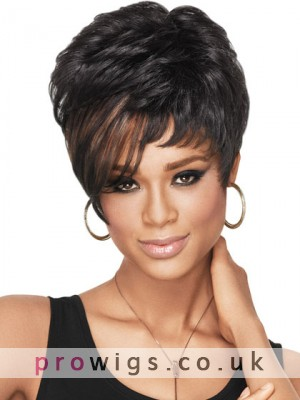 Short Dramatic Tomboy Synthetic Wig