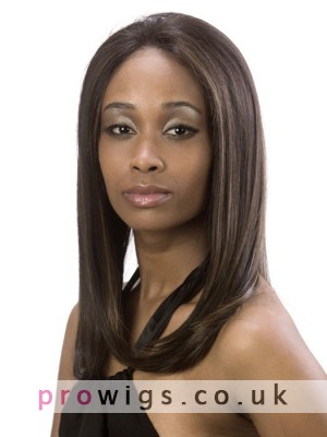 Silky Straight Synthetic Lace Front Wig