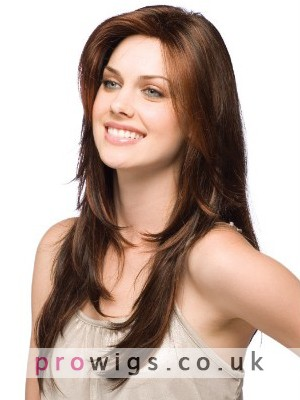 Lengthy Layers Synthetic Capless Wig