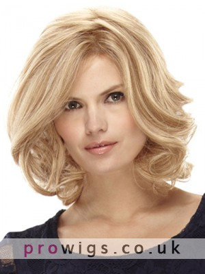 Carrie Lace Front Wavy Synthetic Wig