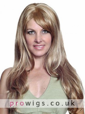 24 Wavy Capless Synthetic Wig