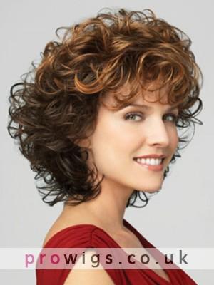 Horizon Dark Copper Synthetic Wig