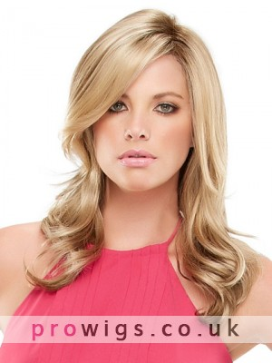 Long Wavy Layers Lace Front Synthetic Wig