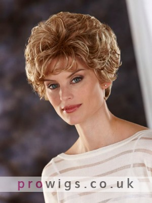 All Over Wavy Lace Front Synthetic Wig