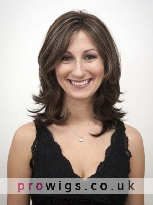 Dramatic Layers Synthetic Wig