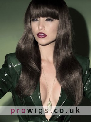 Prevailing Long Wavy Synthetic Capless Wig For Woman