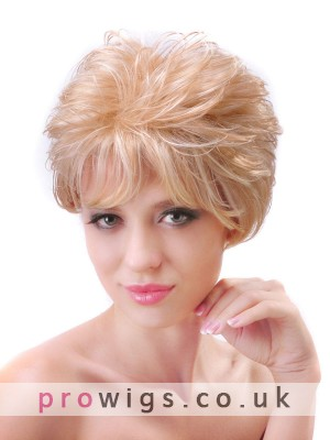 Popular New Arrivals Short Capless Synthetic Wig