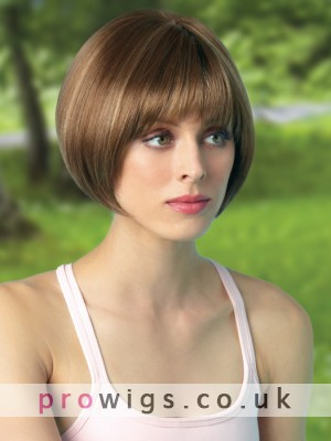BowlCut Silkystrsight Lace Front Wig