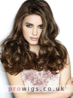 Excellent Long Capless Wavy Synthetic Wig