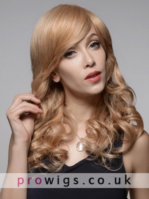 Superior Synthetic Material Long Curly Wig
