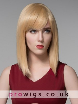 Superior Soft Natural Blond Synthetic Wig