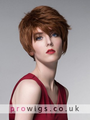 Short Straight Top Quality High Heated Synthetic Wigs