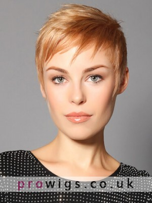 Short Cut Machine Made Synthetic Wig