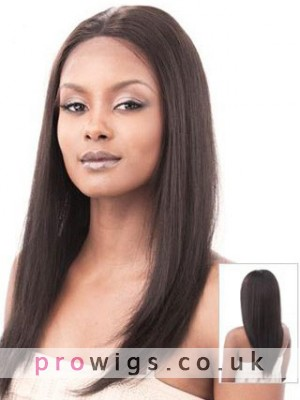 """16"""" Silky Straight Full Lace Wig"""
