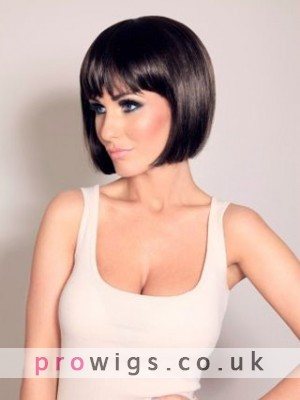 Gorgeous Short Straight Lace Front Wig