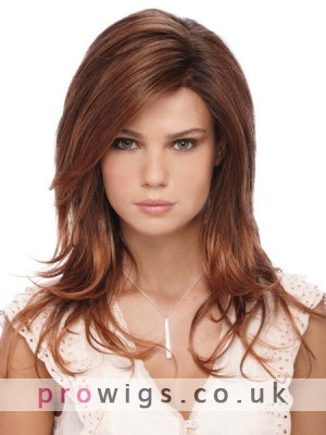 Long Layered Lace Front Synthetic Wig