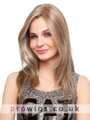 100% Human Hair Lace Front Elongated Length Wig