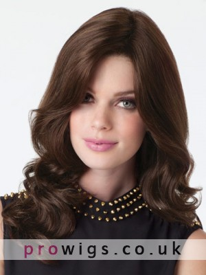 100% Remy Human Hair Soft Wavy Lace Front Wig