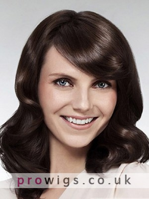 Elegant Lace Front Heat Friendly Synthetic Wig