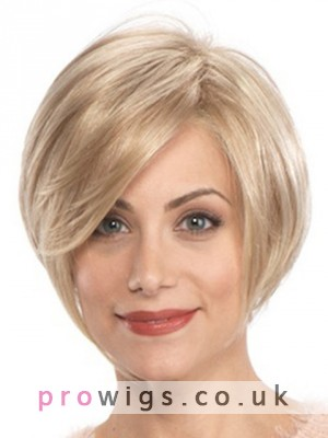 Short Synthetic Hair Lace Front Wig