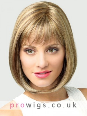 Mid-length Lace Front Wig