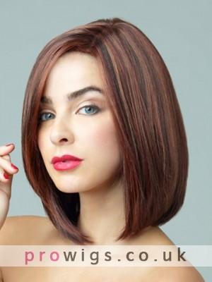 Monofilament Top Synthetic Short Wig
