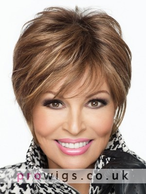 Short Synthetic Lace Front Fashion Wig