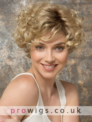 Gorgeous Short Wavy Synthetic Wig For Women