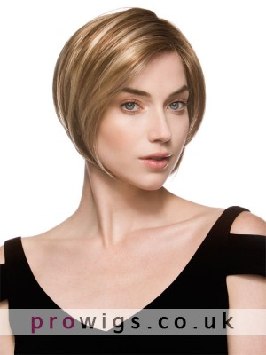 Women's Short Straight Synthetic Wig