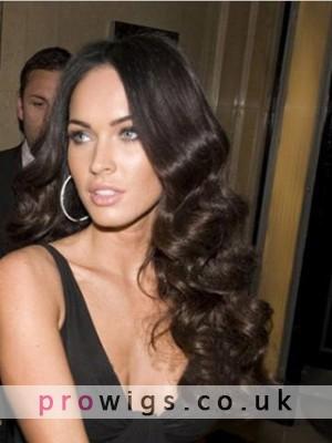 "Megan Fox-20"" Wavy Full Lace Celebrity Wig"