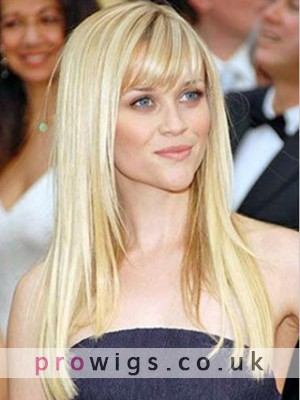 """20"""" Natural Straight Celebrity Wig"""