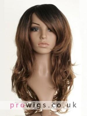 """24"""" Fearne Cotton Wavy Synthetic Dip-Dye Wig"""